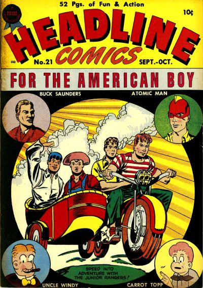 Cover for Headline Comics (Prize, 1943 series) #v2#9 (21)