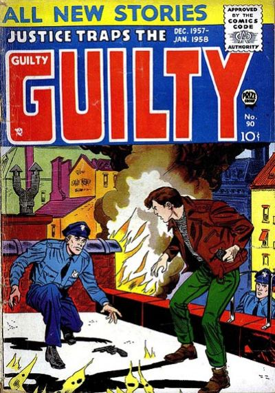 Cover for Justice Traps the Guilty (Prize, 1947 series) #v10#6 (90)