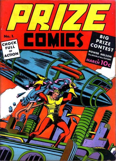 Cover for Prize Comics (Prize, 1940 series) #v1#1 (1)