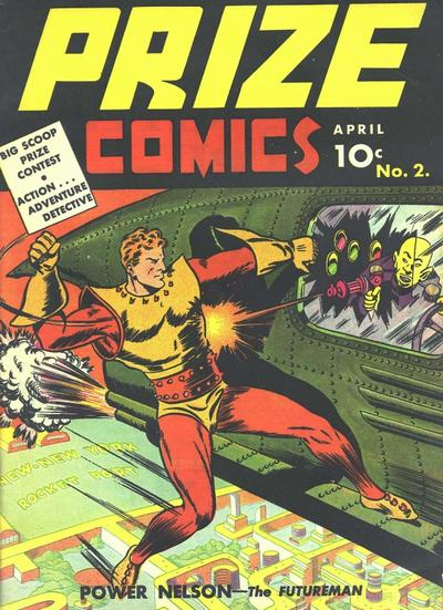 Cover for Prize Comics (Prize, 1940 series) #v1#2 (2)