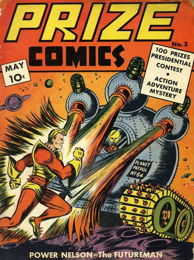 Cover for Prize Comics (Prize, 1940 series) #v1#3 (3)