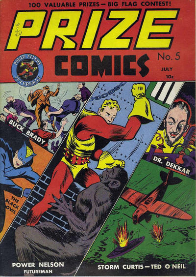Cover for Prize Comics (Prize, 1940 series) #v1#5 (5)