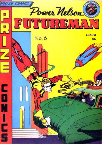 Cover for Prize Comics (Prize, 1940 series) #v1#6 (6)