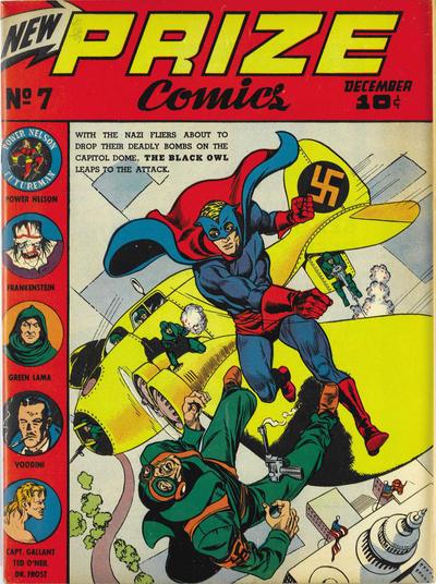 Cover for Prize Comics (Prize, 1940 series) #v1#7 (7)