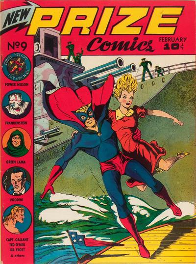 Cover for Prize Comics (Prize, 1940 series) #v1#9 (9)