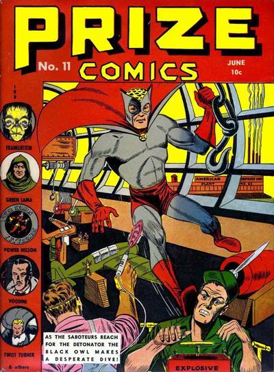 Cover for Prize Comics (Prize, 1940 series) #v1#11 (11)