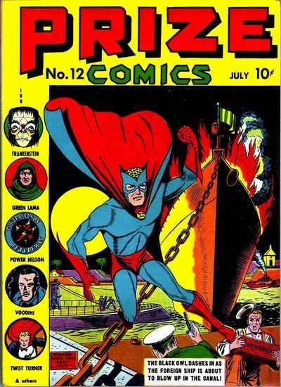 Cover for Prize Comics (Prize, 1940 series) #v1#12 (12)