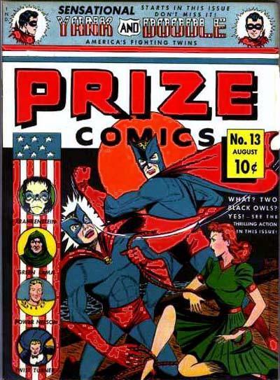 Cover for Prize Comics (Prize, 1940 series) #v2#1 (13)