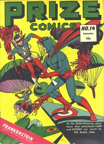 Cover for Prize Comics (Prize, 1940 series) #v2#2 (14)
