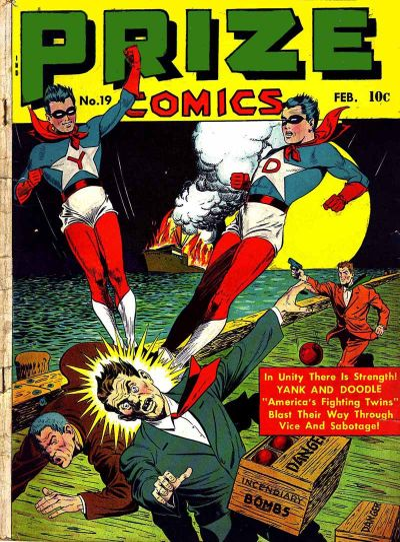 Cover for Prize Comics (Prize, 1940 series) #v2#7 (19)