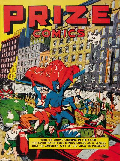 Cover for Prize Comics (Prize, 1940 series) #v2#8 (20)