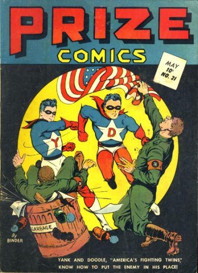 Cover for Prize Comics (Prize, 1940 series) #v2#9 (21)