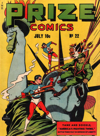 Cover for Prize Comics (Prize, 1940 series) #v2#10 (22)
