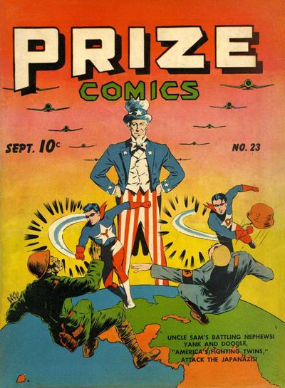 Cover for Prize Comics (Prize, 1940 series) #v2#11 (23)