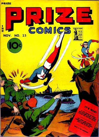 Cover for Prize Comics (Prize, 1940 series) #v3#1 (25)
