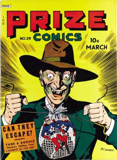 Cover for Prize Comics (Prize, 1940 series) #v3#5 (29)