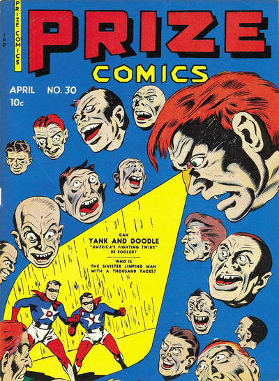 Cover for Prize Comics (Prize, 1940 series) #v3#6 (30)