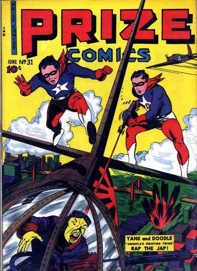 Cover for Prize Comics (Prize, 1940 series) #v3#7 (31)