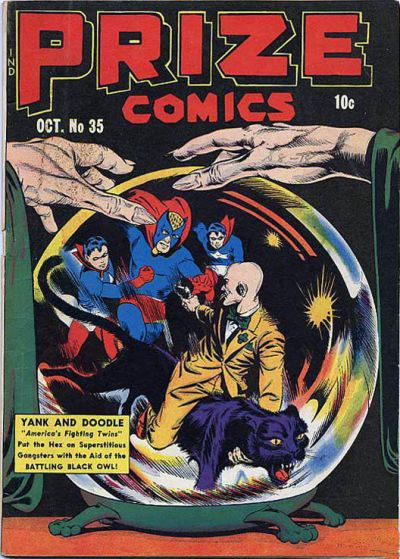 Cover for Prize Comics (Prize, 1940 series) #v3#11 (35)