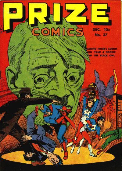 Cover for Prize Comics (Prize, 1940 series) #v4#1 (37)