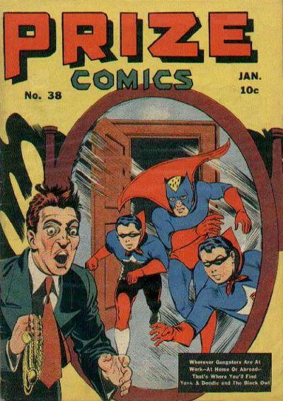 Cover for Prize Comics (Prize, 1940 series) #v4#2 (38)