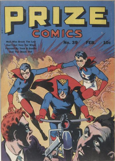 Cover for Prize Comics (Prize, 1940 series) #v4#3 (39)