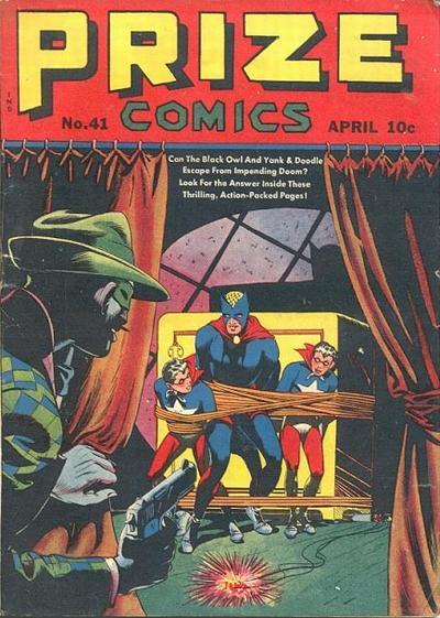 Cover for Prize Comics (Prize, 1940 series) #v4#5 (41)