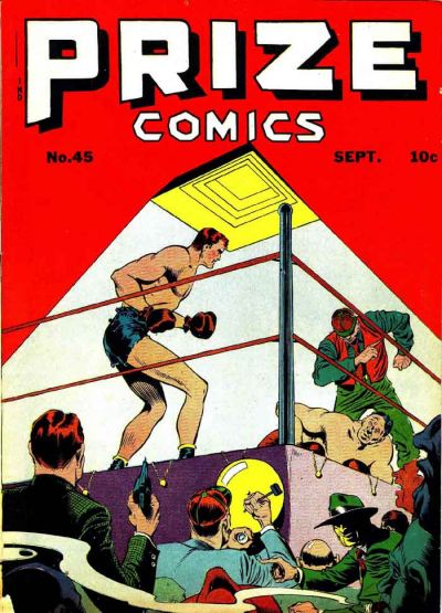 Cover for Prize Comics (Prize, 1940 series) #v4#9 (45)