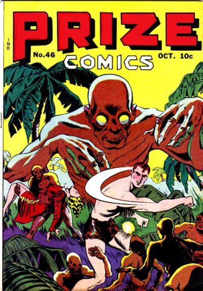 Cover for Prize Comics (Prize, 1940 series) #v4#10 (46)