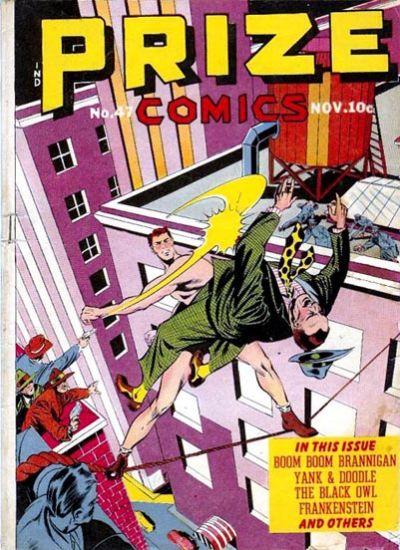 Cover for Prize Comics (Prize, 1940 series) #v4#11 (47)