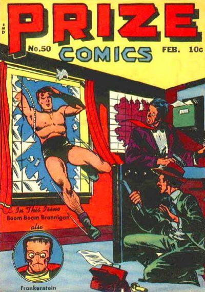 Cover for Prize Comics (Prize, 1940 series) #v5#2 (50)