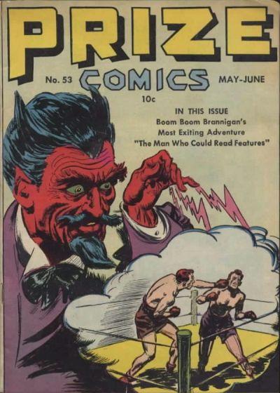 Cover for Prize Comics (Prize, 1940 series) #v5#5 (53)