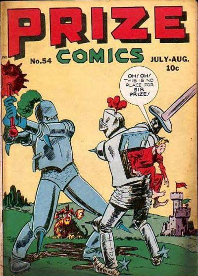 Cover for Prize Comics (Prize, 1940 series) #v5#6 (54)