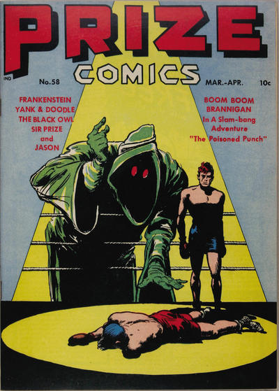 Cover for Prize Comics (Prize, 1940 series) #v5#10 (58)