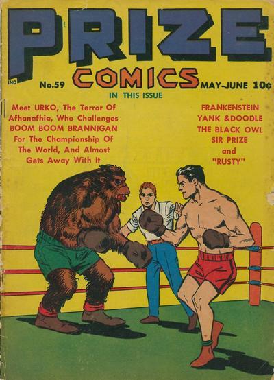 Cover for Prize Comics (Prize, 1940 series) #v5#11 (59)
