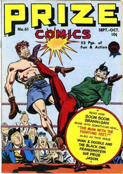 Cover for Prize Comics (Prize, 1940 series) #v6#1 (61)