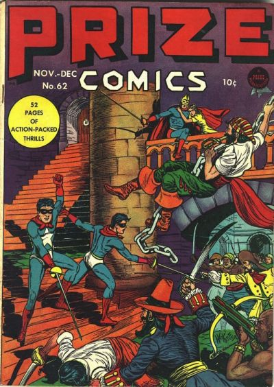 Cover for Prize Comics (Prize, 1940 series) #v6#2 (62)