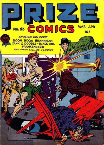 Cover for Prize Comics (Prize, 1940 series) #v6#3 (63)