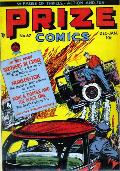 Cover for Prize Comics (Prize, 1940 series) #v6#7 (67)