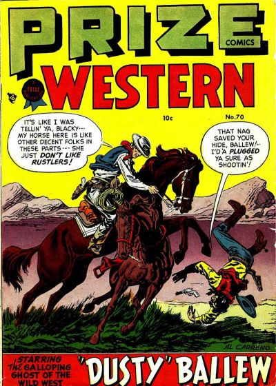 Cover for Prize Comics Western (Prize, 1948 series) #v7#3 (70)