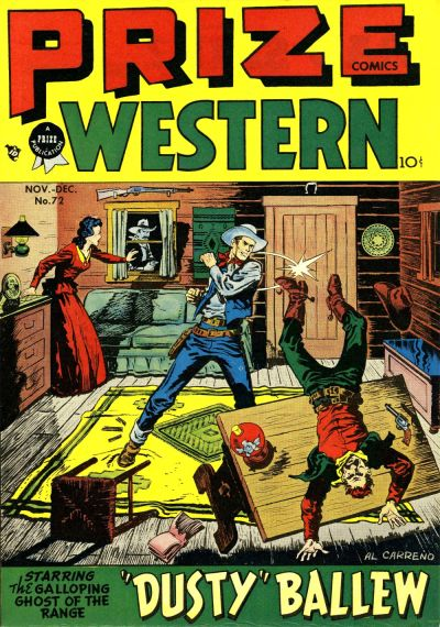 Cover for Prize Comics Western (Prize, 1948 series) #v7#5 (72)