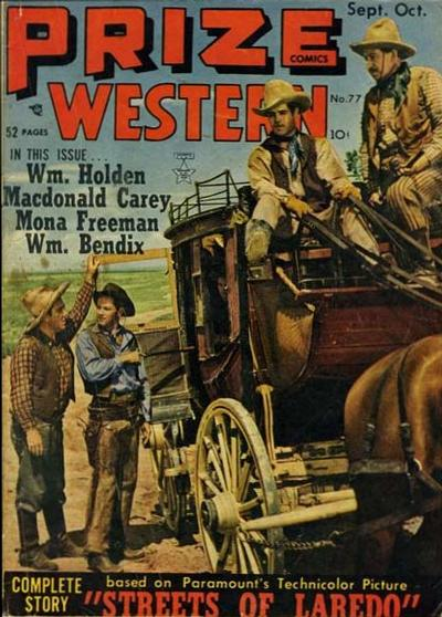 Cover for Prize Comics Western (Prize, 1948 series) #v8#4 (77)