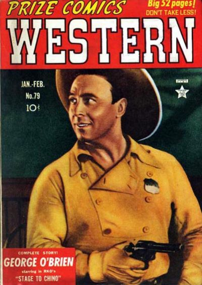 Cover for Prize Comics Western (Prize, 1948 series) #v8#6 (79)