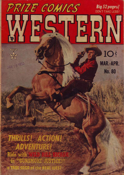 Cover for Prize Comics Western (Prize, 1948 series) #v9#1 (80)