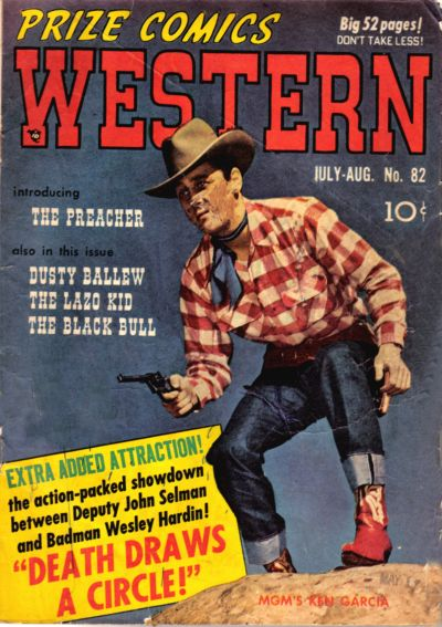 Cover for Prize Comics Western (Prize, 1948 series) #v9#3 (82)