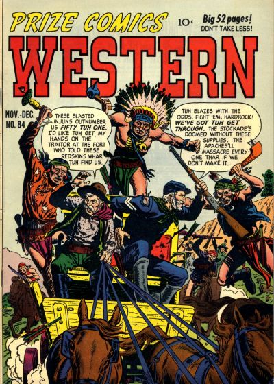 Cover for Prize Comics Western (Prize, 1948 series) #v9#5 (84)