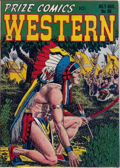 Cover for Prize Comics Western (Prize, 1948 series) #v10#3 (88)