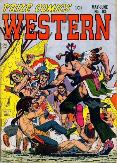 Cover for Prize Comics Western (Prize, 1948 series) #v11#2 (93)