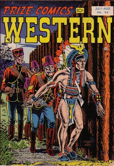 Cover for Prize Comics Western (Prize, 1948 series) #v11#3 (94)