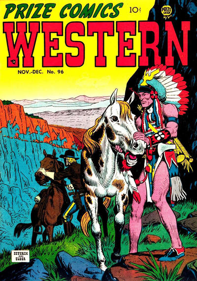 Cover for Prize Comics Western (Prize, 1948 series) #v11#5 (96)